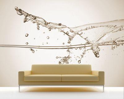Fototapete - Wasserspritzer II – Bild 3