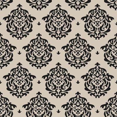 Fototapete - Florales Muster Tapete II – Bild 4