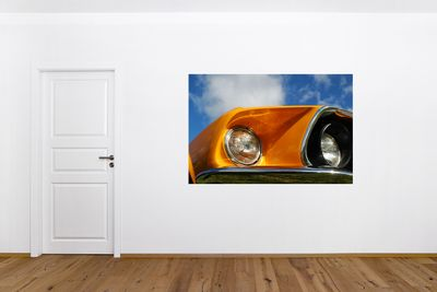 Fototapete - Ford Mustang - orange – Bild 1