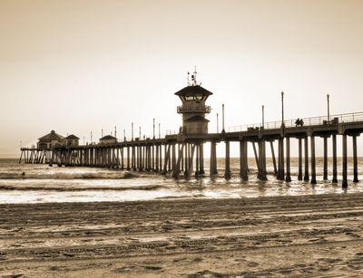 Fototapete - Huntington Beach Pier – Bild 4
