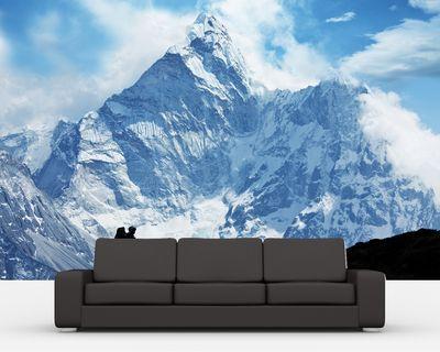 Fototapete - Klettern im Himalaya – Bild 1