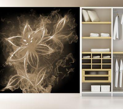 Fototapete - Feuerlilie – Bild 5
