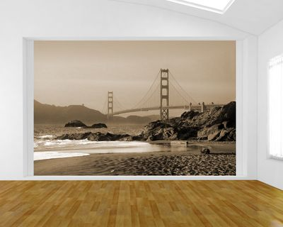 Fototapete - Golden Gate – Bild 3