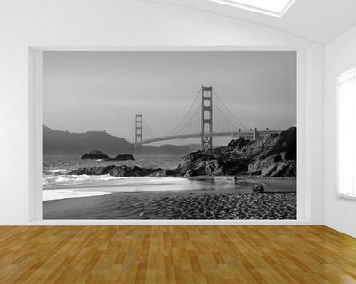 Fototapete - Golden Gate – Bild 5