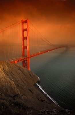 Fototapete - Golden Gate Bridge San Francisco – Bild 2