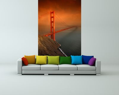 Fototapete - Golden Gate Bridge San Francisco – Bild 1