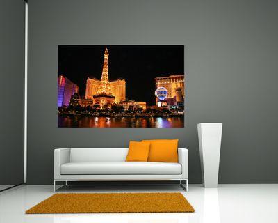 Fototapete - Las Vegas by Night – Bild 1