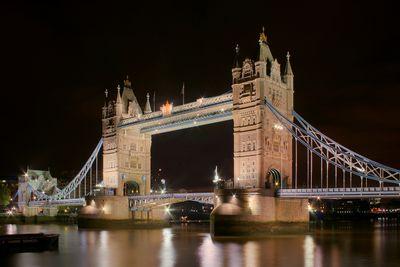 Fototapete - London Towerbridge bei Nacht – Bild 2