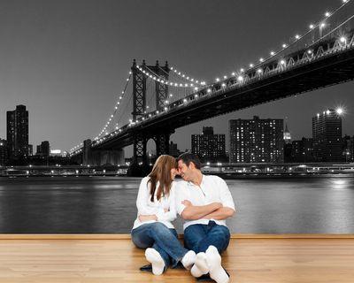 Fototapete - New York Bridge – Bild 5