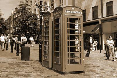 Fototapete - rote Telefonzelle in London – Bild 4