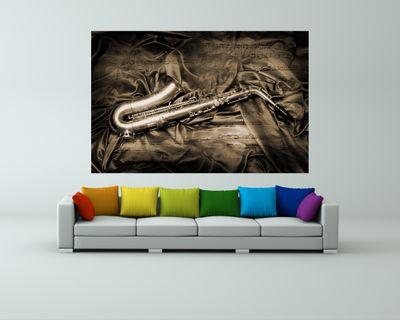 Fototapete - Saxophon – Bild 3