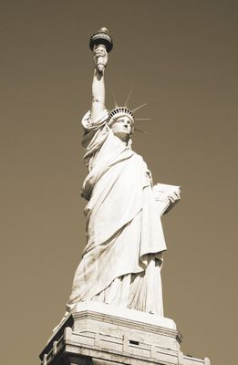 Fototapete - Statue of Liberty New York USA – Bild 4