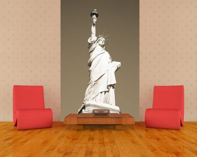 Fototapete - Statue of Liberty New York USA – Bild 3