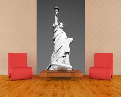 Fototapete - Statue of Liberty New York USA – Bild 1