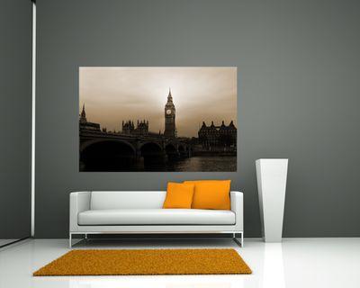 Fototapete - Big Ben London UK II – Bild 3