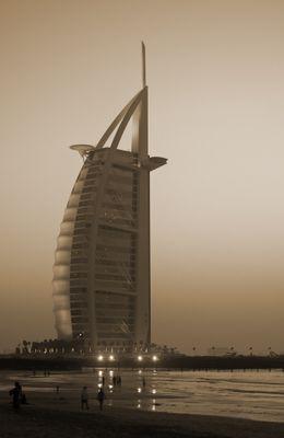 Fototapete - Burj al Arab Hotel in Dubai – Bild 4