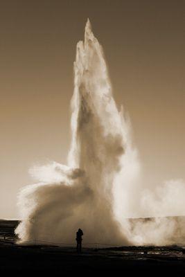 Fototapete - Geysir – Bild 4