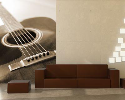 Fototapete - Gitarre – Bild 3