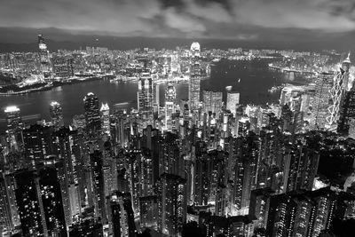 Fototapete - Hong Kong City at night – Bild 6