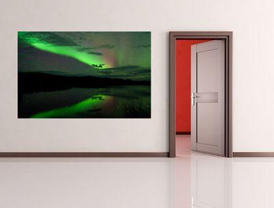 Fototapete - Nordlichter – Bild 1
