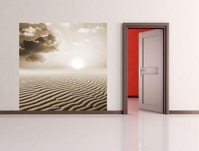 Fototapete - Sahara Wüste in Afrika – Bild 3