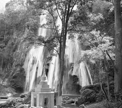 Fototapete - Waterfall in Myanmar – Bild 6