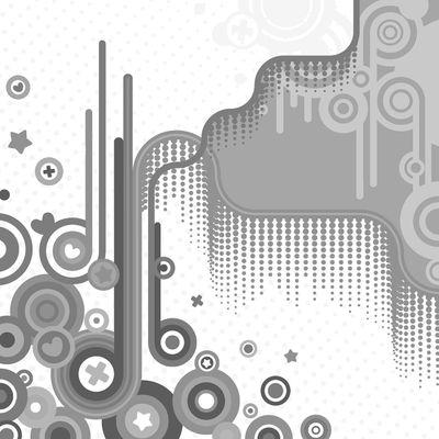 Fototapete - Abstrakt Retro Background II – Bild 6