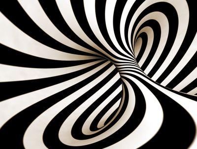 Fototapete - Abstrakte 3D Spirale – Bild 4