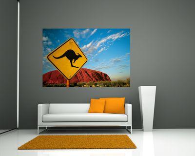 Fototapete - Ayers Rock Australien – Bild 1