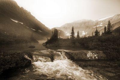 Fototapete - Glacier National Park, Montana - USA – Bild 4