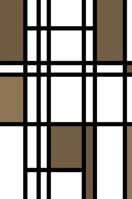 Fototapete - Mondrian retro – Bild 4
