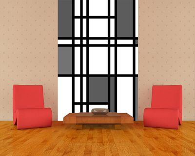 Fototapete - Mondrian retro – Bild 5