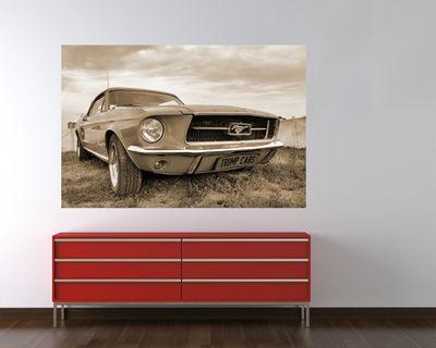Fototapete - Mustang – Bild 5