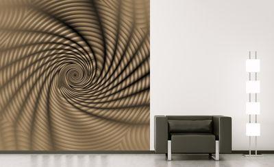 Fototapete - Regenbogenspirale abstrakt – Bild 3