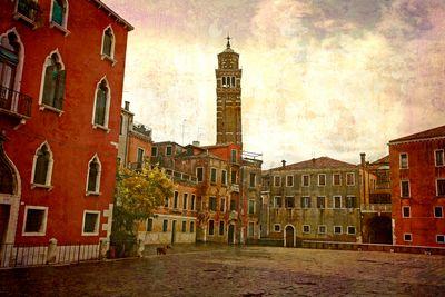 Fototapete - Venedig Grunge 3 – Bild 2
