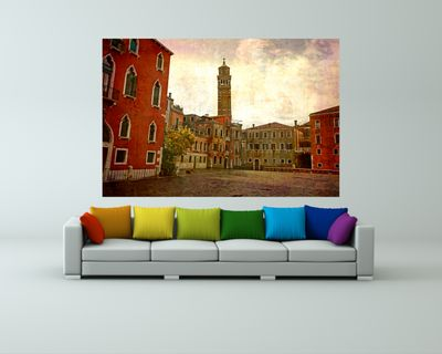 Fototapete - Venedig Grunge 3 – Bild 1