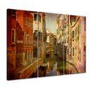 Wandbild - Venedig Urban 120x80cm - 3 teilig  001