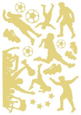 Leuchtfolie Fußball - Fluoreszierend und Nachtleuchtend – Bild 3
