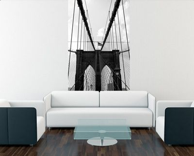 Fototapete Brooklyn Bridge - New York