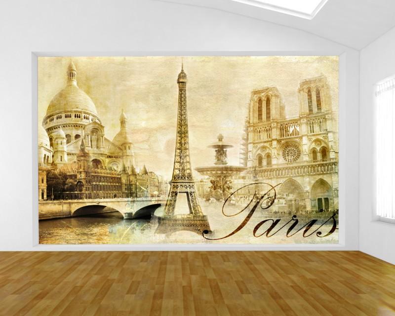 Fototapete Paris Urban Collage Tapeten Stadte Kulturen