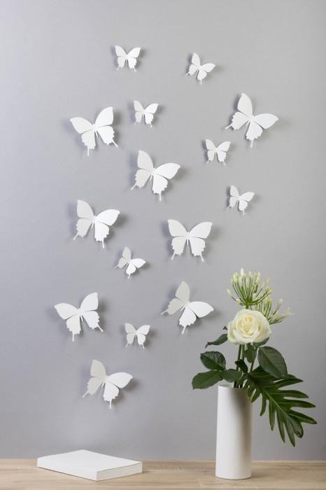 Schmetterlinge in 3D Style