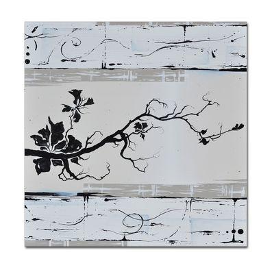 Abstrakte Kunst M4 handgemaltes Leinwandbild 80x80cm - 4cm Galerierahmen! - 804 – Bild 1