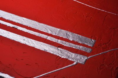 Abstrakte Kunst M5 handgemaltes Leinwandbild 80x80cm - 4cm Galerierahmen! - 805 – Bild 5
