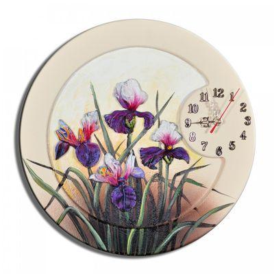 Wanduhr Blumen K 03 – Bild 1