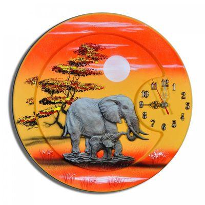 Wanduhr Elefanten K 11