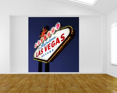Fototapete Welcome to Las Vegas – Bild 1