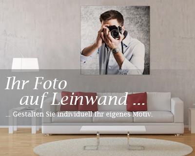 Leinwandbild Foto-Leinwand Wunschmotiv Quadrat-Format – Bild 2