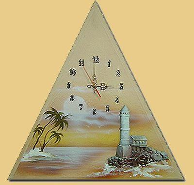Wanduhr Leuchtturm M1