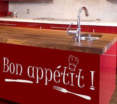 Wandtattoo Bon appetit 1