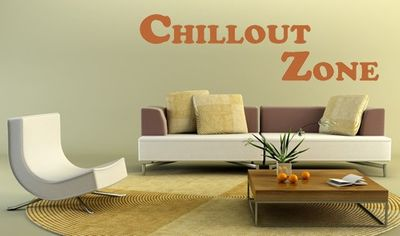 Wandtattoo Chillout Zone 1 – Bild 1